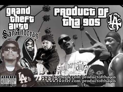 West Coast GTA San Andreas G-Funk Remix ft Mr. Criminal,2 Pac, Eazy-E, I...