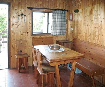 Lago di Como, affitto baita vista lago. Cucina rivestita ...