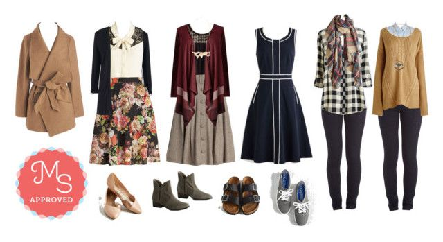 """""""Travel Mix and Match"""" by modcloth ❤ liked on Polyvore"""