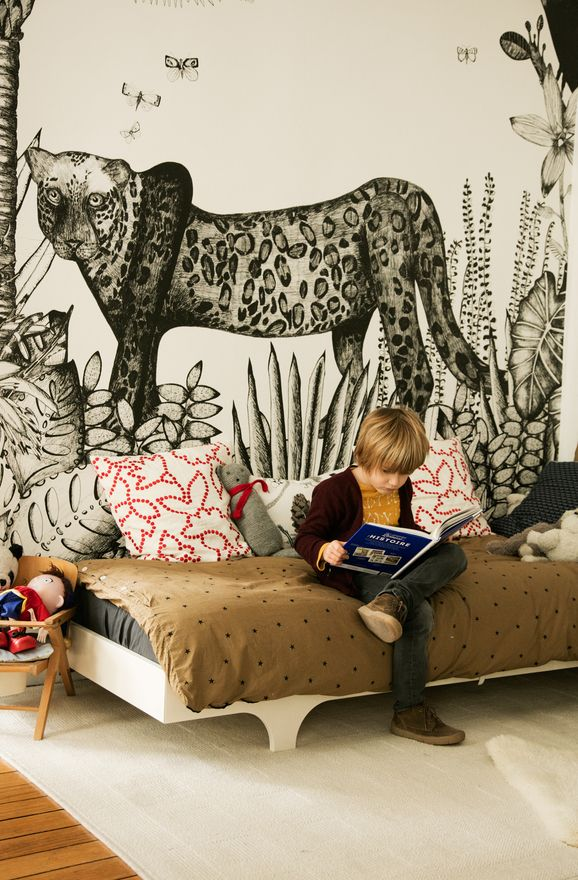 More Kids Inspiration on www.ringthebelle.com children / enfants / intérieur / room / chambre / family / paris / #ringthebelle / #storystore