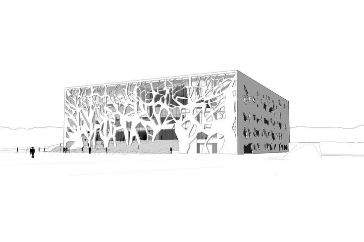 АНИМА Культурный центр предложения,любезно Бернард Чуми архитекторов