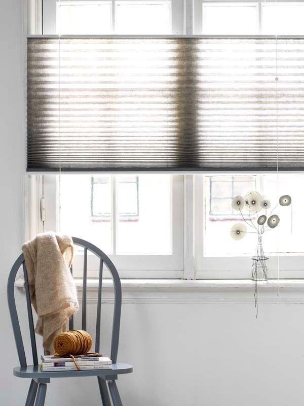 KARWEI | Regel eenvoudig je lichtinval en privacy met deze stoffen plisségordijnen met een 'top down – bottom up' functie.