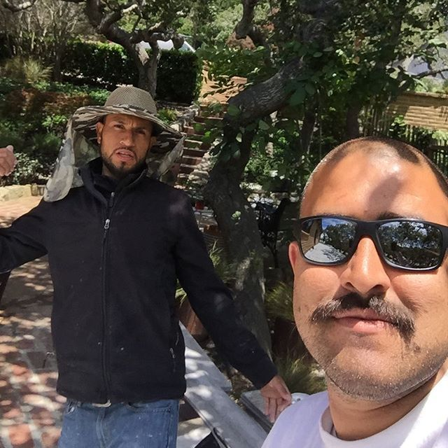 You are looking at two of the best #tilesetters of the #montereypeninsula #monterey #montereycounty #carmel #carmelvalley #carmelhighlands #pacificgrove #pebblebeach #craftsman #craftsmen #craftsmanship #tileinstallation #tileartist #tilefloors #tiledesign #tilecontractor #generalcontractor #construction #contractor #renovation #remodeling #remodel #kitchenremodel #bathroomremodel #stone #stonefabrication #projects #customtile #customtilework #montereylocals #pacificgrovelocals - posted by…