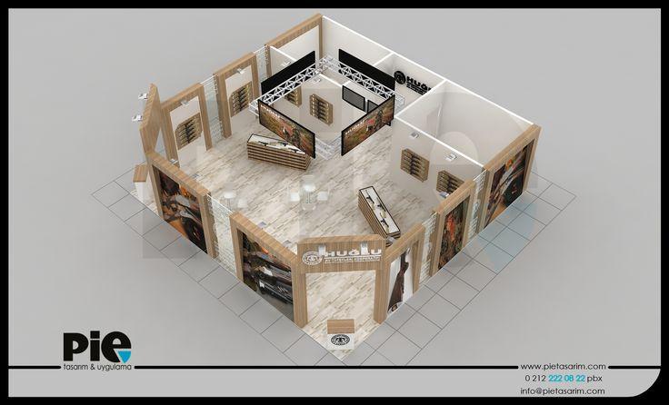 Prohunt Fuarı ''HUĞLU'' Stand Tasarımımız