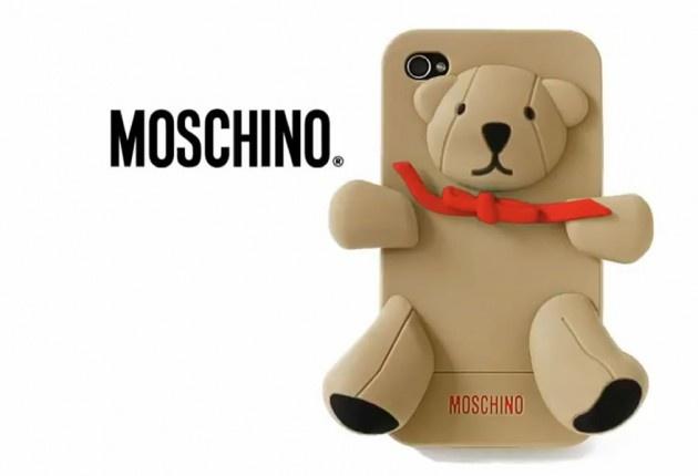 Glam cover per iPhone firmate Moschino: ecco Gennarino e Luisa