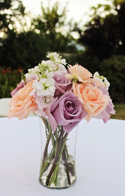 Love the purple and the peach colors!!!