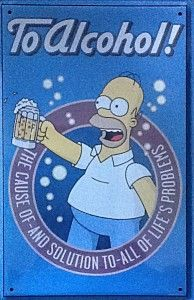 To Alcohol! - Homer Simpson