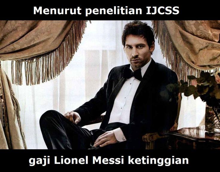 Penelitian Mengatakan Bahwa Messi Pemain Yang Digaji Paling Berlebihan