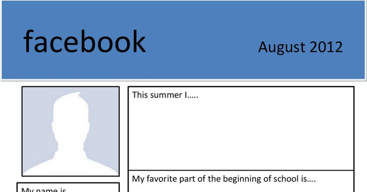 Getting to know your students, fun beginning of the year activity