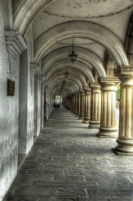 """Colonade of the """"Palacio de los Capitanes Generales"""" by DaveWilsonPhotography, via Flickr"""