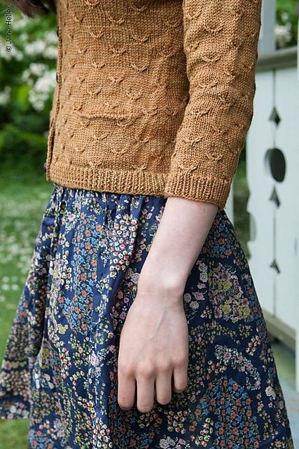 Sweater and skirt for cool fall days
