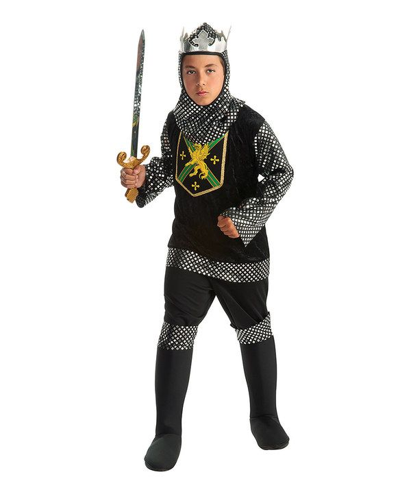 take a look at this black warrior king costume boys on zulily today - Triple H Halloween Costume