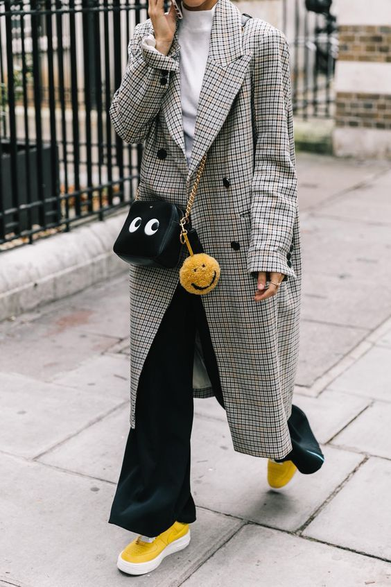 Winterjas Dames Trend.Blazer Star Struck Check Winterjassen Dames 2018 Stil Mode