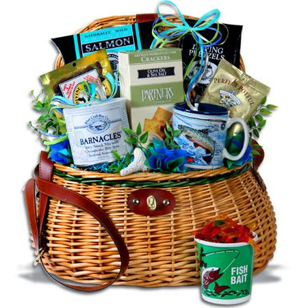 Fishing-Gift-Basket, and other men's gift basket ideas