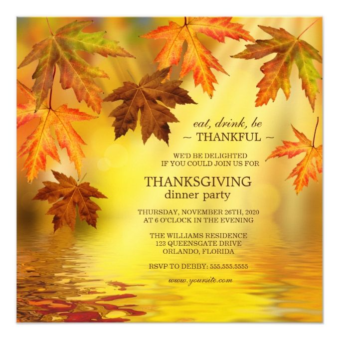 312 best thanksgiving invitations images on pinterest, Party invitations