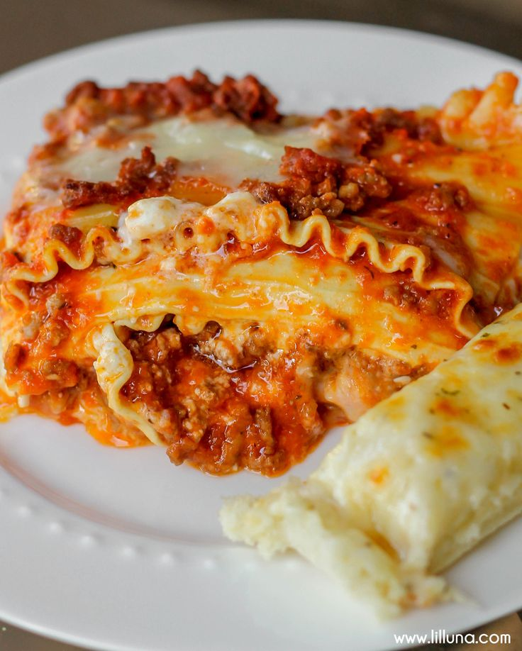 how to prepare lasagna pasta