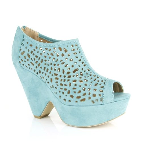 Pastels are carrying over from last Spring with these gorgeous cut out Novo Shoes called 'Verina.'