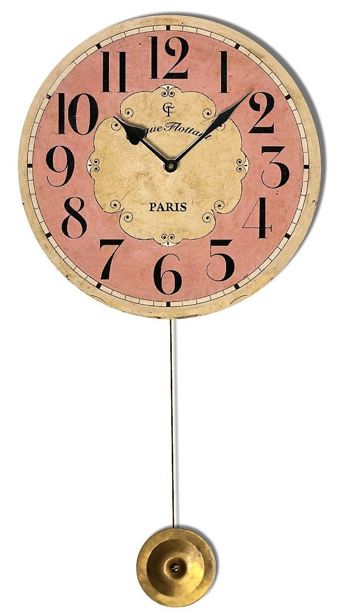 Am americana country wall clocks - The Name On This Charming Clock Is Taken From An Actual Flea Market In Paris