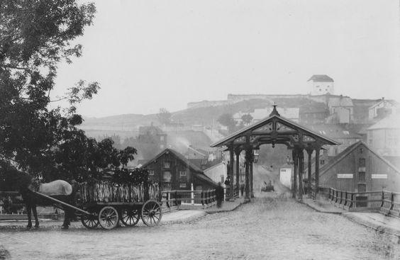 Trondheim, Norway in circa 1900