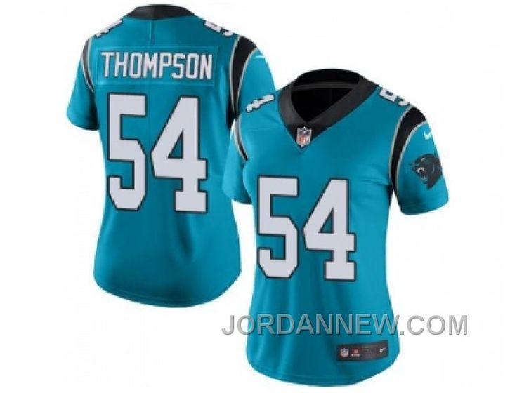http://www.jordannew.com/womens-nike-carolina-panthers-54-shaq-thompson-blue-stitched-nfl-limited-rush-jersey-authentic.html WOMEN'S NIKE CAROLINA PANTHERS #54 SHAQ THOMPSON BLUE STITCHED NFL LIMITED RUSH JERSEY AUTHENTIC Only $23.00 , Free Shipping!