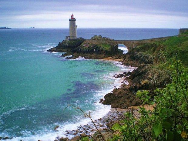 Le phare du Minou ( Nord-Finistère )