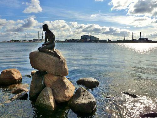 The Little Mermaid,Copenhagen,Denmark