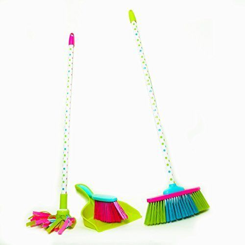 Kids-Cleaning-Set-Includes-Broom-Mop-Dustpan-and-Brush