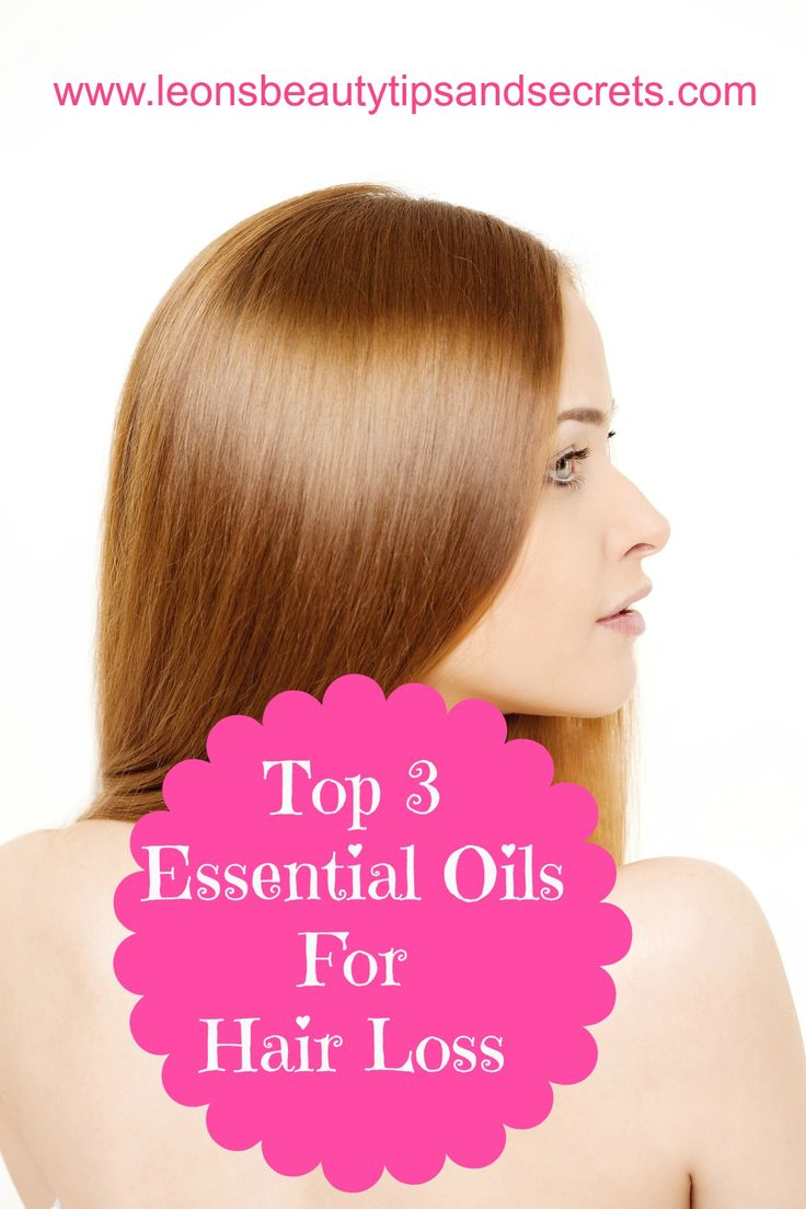 I'm tired of having thin hair... Top 3 Essential Oils For Hair Loss