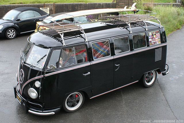 Combi with Surf board.