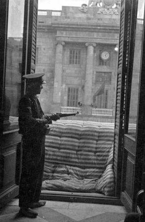 Defensa del Palau de la Generalitat durant l'intent de cop d'estat de juliol 1936