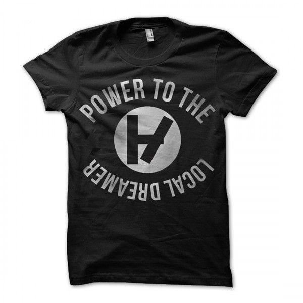 Power to Local Dreamer Shirt   Official Twenty One Pilots Store  http://store.twentyonepilots.com/apparel/power-to-the-local-dreamer-t-shirt-11.html