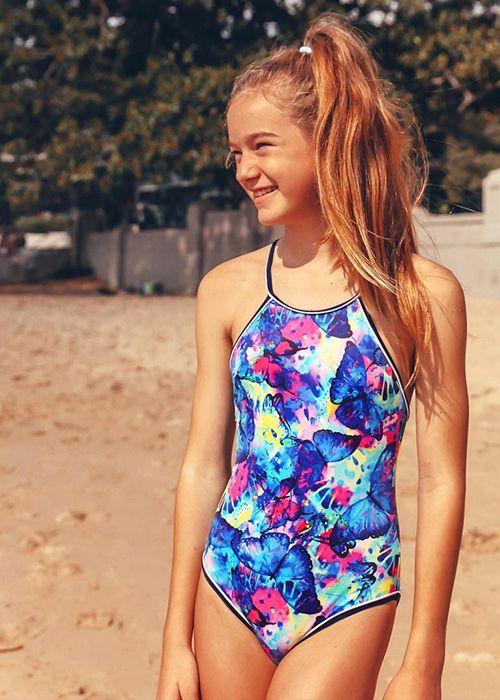أكثر من ١٠ موديلات مايوهات ذات قطعة واحدة لابنتك في صيف 2019 Teens Swimwear Australian Swimwear Swimwear Girls