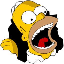 Estampa para camiseta Os Simpsons 001103