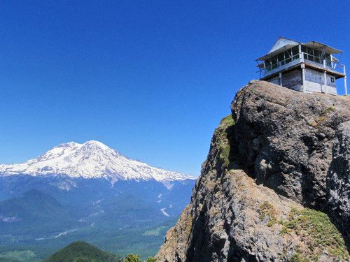 My favorite hike in Washington - High Rock Lookout