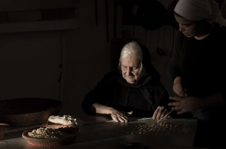 Sardinia, the cover of my coffee table book about making of pastas.