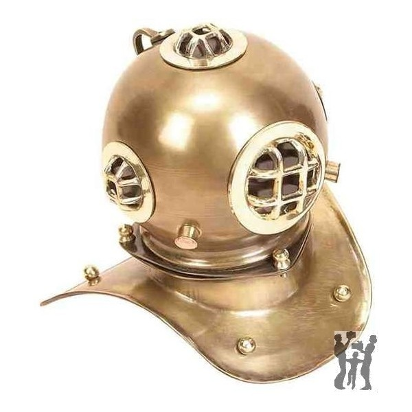 BENZARA BRASS DIVING HELMET FOR SMALLER SPACES 28218 from AVARIETYOFGIFTS.com: Brass Finish, Antiques Finish, Brass Diving, Diving Helmets, Sea Helmets, Decor Amp, Home Decor, Deep Sea, Nautical Diving