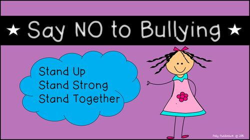 Anti-Bullying Posters | High schools, Middle school and ...