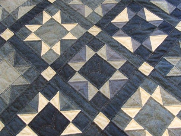 Denim Quilt Finished! | Tim Latimer - Quilts etc