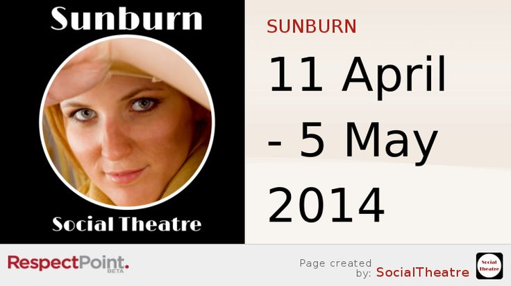 Check out this great Respect Page for SUNBURN I found on RespectPoint!