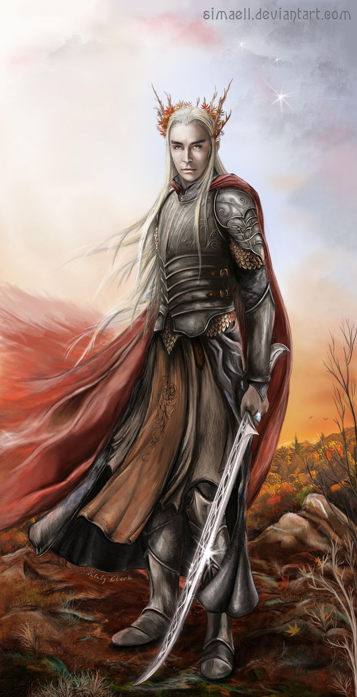 Thranduil by Simaell on deviantART | Elementals Armor ...