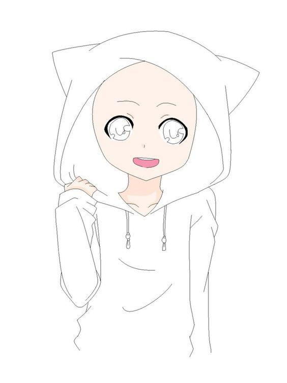 Image Result For Drawing Base Girl Art Anime Girl