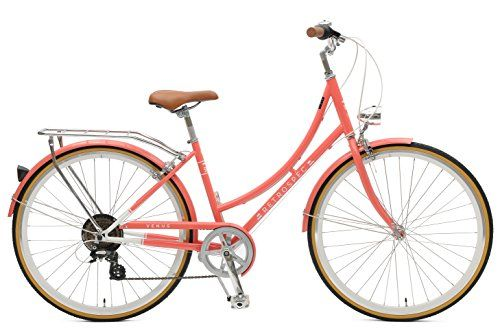 Special Offers - Retrospec Venus Dutch Step-Thru City Comfort Hybrid Bike Coral 7-Speed / 44cm m/l - In stock & Free Shipping. You can save more money! Check It (June 11 2016 at 06:56AM) >> http://cruiserbikeswm.net/retrospec-venus-dutch-step-thru-city-comfort-hybrid-bike-coral-7-speed-44cm-ml/