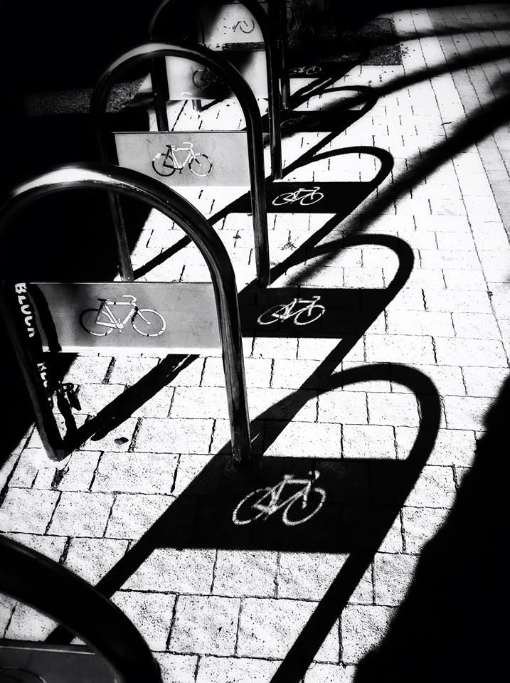 #bikes #bicycle #blackandwhite #bw #israel #tlv #telaviv #bicycles #art #photography