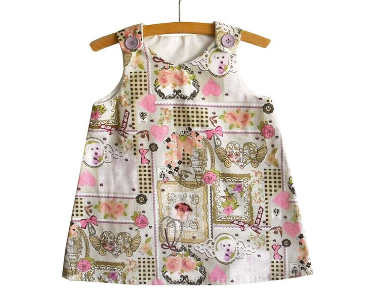 A Line Dress Pattern Tutorial/Toddler dress by KokoPattern on Etsy, $4.00