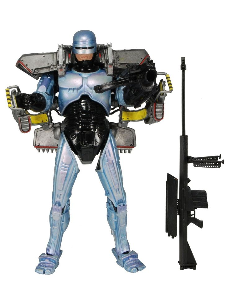 #robocop   14% OFF http://bucksme.com/share/3856  The Jetpack, as seen in Robocop 3, attaches to the figure's back and comes complete with a cannon arm, just like in the film. As a bonus, we have also included the Cobra Assault Cannon from the original 1987 film!