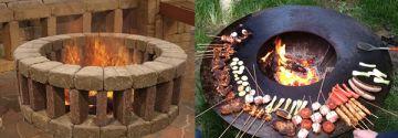 Lust auf Sommer! 10 fantastische Ideen für Feuerstellen / Barbecue's!