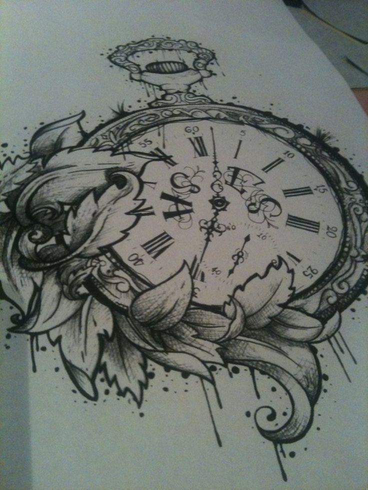 Tatuaggi di orologio da taschino Tatuaggi and Tatuaggi di orologio on ...
