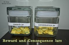 Reward and Consequence Jars