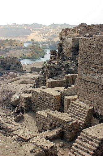 :::: ✿⊱╮☼ ☾ PINTEREST.COM christiancross ☀❤•♥•* ::::  Aswan - Elephantine Island