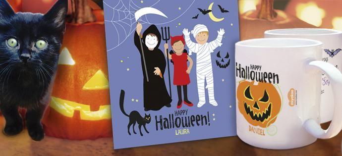 No te pierdas nuestra categoría Halloween. Invitaciones y tazas personalizadas. Varios diseños http://www.miyakao.com/es/celebraciones/halloween.html